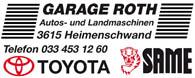 Garage Roth Heimenschwand